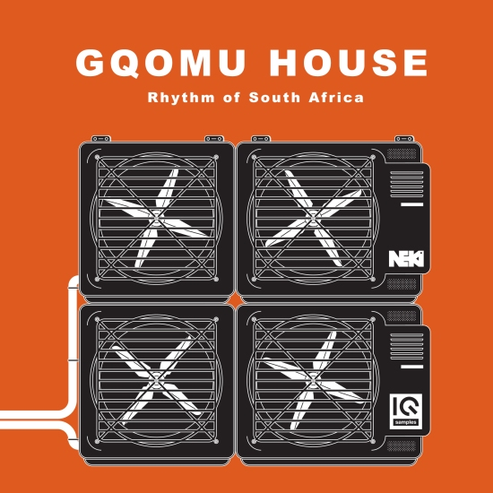 IQS008 IQ Samples - GQOMU House - Rhythm of South Africa